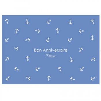 carte postale, bon anniversaire morue, félicie aussi, birthday, créateurs, odette et lulu, eshop