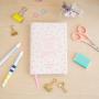 agenda, mr wonderfu année 2017, fournitures, odette et lulu, créateurs, eshop, design, concept store, aujourd'hui c'est mon jour, agenda rose, petit format, plumetis