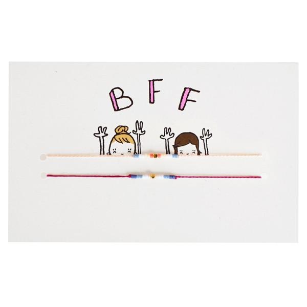 cartes, bracelets, BFF, meilleures amies, bijoux, best friends, forever, besties, concept cadeau, mathilde cabanas, sophie ju accessoires, odette et lulu, createurs, eshop