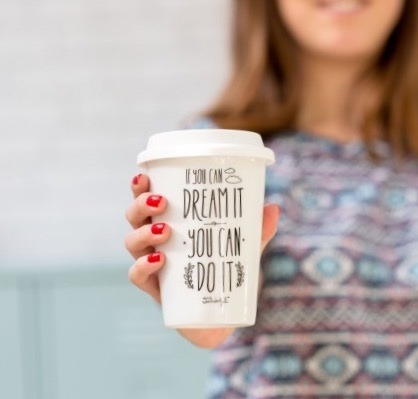 mug, take away, odette et lulu, créateurs, concept store, if you can dream it, you can do it, graphisme, design