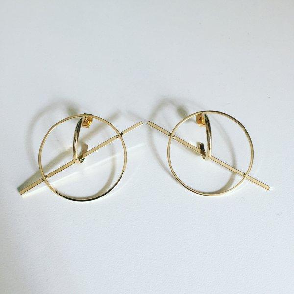 boucles d'oreilles, galaxie, or, doré, odette et lulu, créateurs, eshop, concept store, petit prix, cadeau