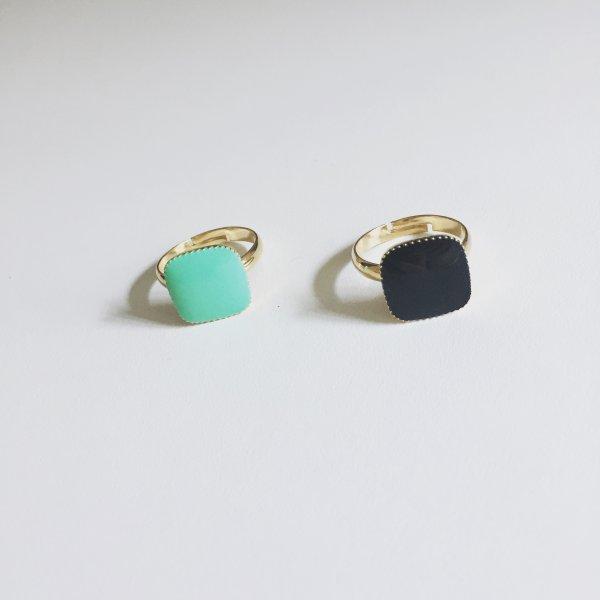 bague, the craft, noire, dorée, odette et lulu, ajustable, bague réglable, perfect gift, 7bis, concept store, rock et romantique