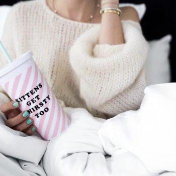 sip sip, kittens get thirsty too, bando, odette et lulu, eshop, créateurs, concept store, boisson, chill, gobelet à emporter, rétro, giirly, cadeau de noel