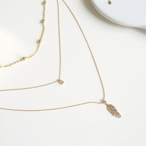 collier, feather, odette et lulu, créateurs, eshop, concept store, 7bis, collier 3 en 1, idée cadeau, perfect gift