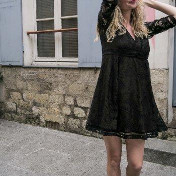 la parfaite petite robe noire, odette et lulu, créateurs, eshop, concept store, dentelles, dress, opullence, made in france, fait à paris, avec amour