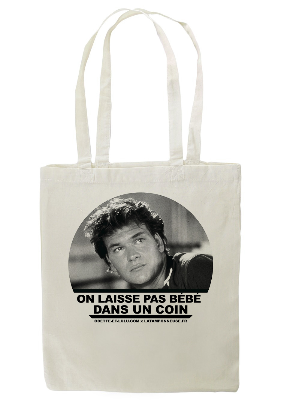 tote bag patrick swayze. Black Bedroom Furniture Sets. Home Design Ideas