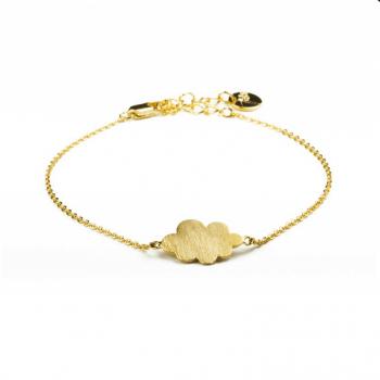 bracelet, odette et lulu, cloudy, createurs, doré, argenté, or, argent, ajustabe, eshop, 7bis, bracelet