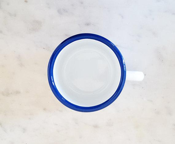 mug, poulette for life, odette et lulu, émail, lolita picco, handmade, eshop