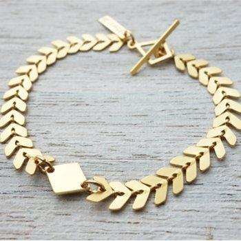 bracelet, andromeda, odette et lulu, shlomit ofir, plaque or, createurs, eshop