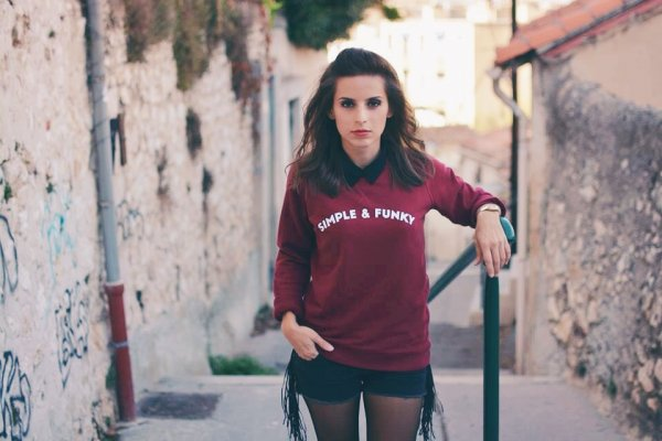 sweat, nouvelle collection, odette et lulu, simple & funky, bordeaux, eshop, createurs