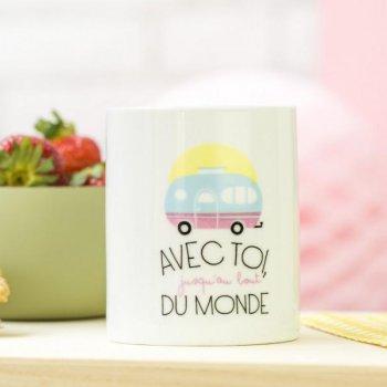 concept store, odette et lulu, créateurs, mr wonderful, mug, avec toi jusqu'au bout du monde, eshop