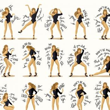 affiche, odette et lulu, single ladies, beyoncé, choré, draw me a song, nour thomé, chorégrapie, artiste, pas de danse, clip