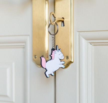 porte clés, odette et lulu, créateurs, mr wonderful, concept store, eshop, online, licorne, unicorn, amitié, best friends forever