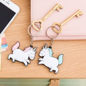 porte clés, odette et lulu, créateurs, mr wonderful, concept store, eshop, online, licorne, unicorn, amitié, best friends forever