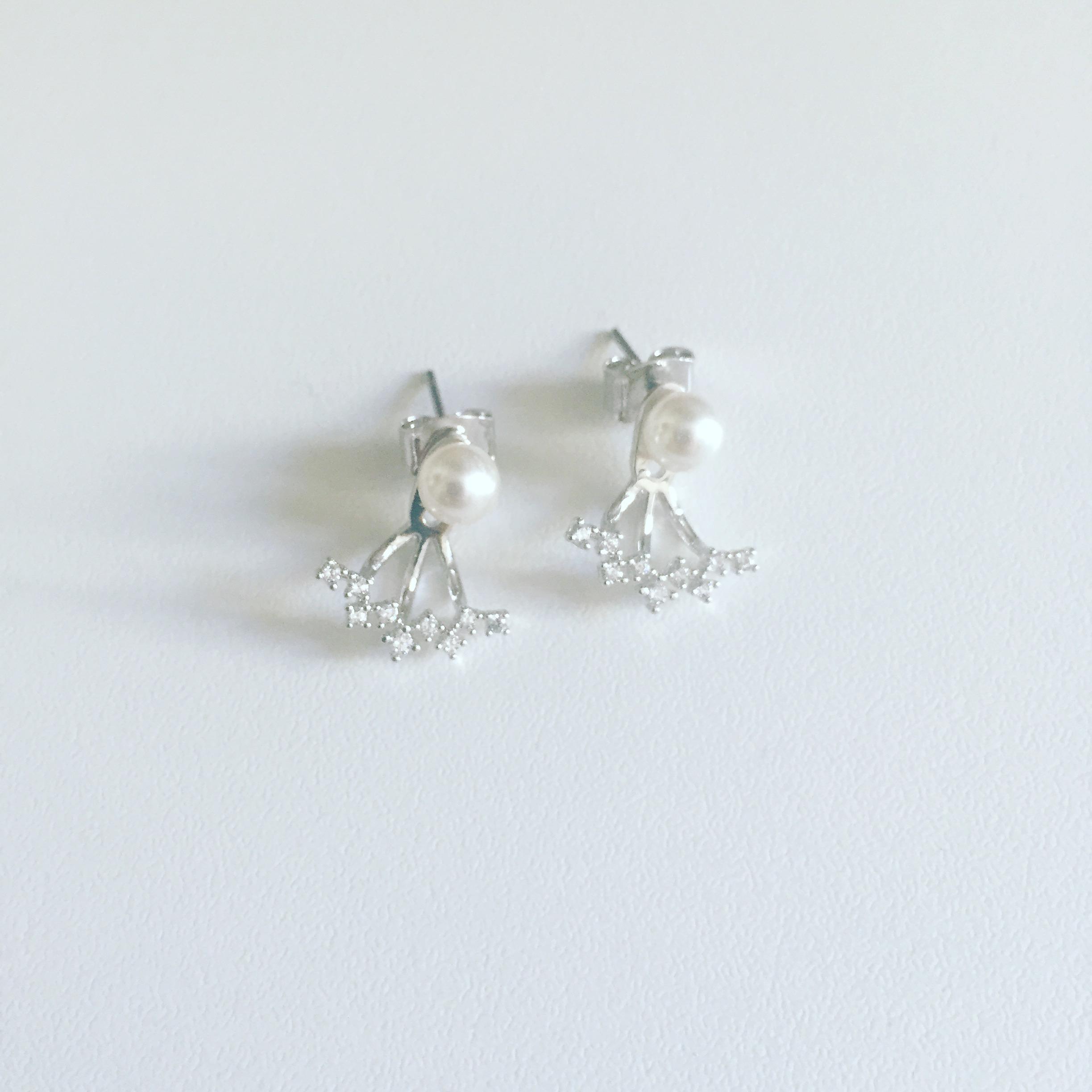 Boucles d 39 oreilles perle - Tuto boucle d oreille perle ...