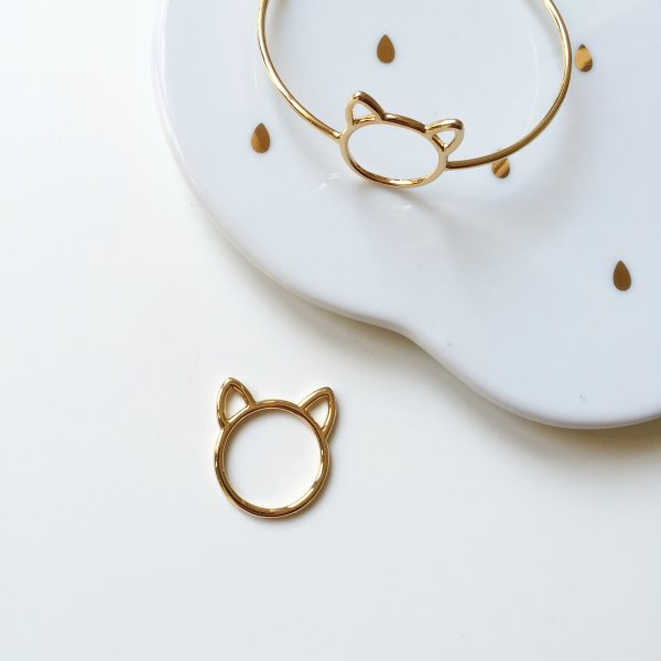 jonc, chaton, odette et lulu, créateurs, 7bis, paris, eshop, concept store, chat, kitten, kitty, cat, bijou chat, cadeau, perfect gift, noel, petit prix