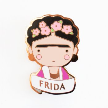 broche, odette et lulu, sketch inc, becky, créateurs, concept store, eshop, pin's, icônes, icone pop, icone art, prince, ziggy, david bowie, frida, frida kahlo, andy warhol, basquiat, coco chanel, chanel, karl lagerfeld, création, 2017, hommage
