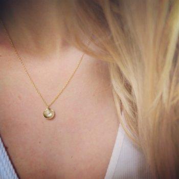 collier, coquillage, perle, odette et lulu, créateurs, estella bartlett, concept store, plaqué or, perle, shell