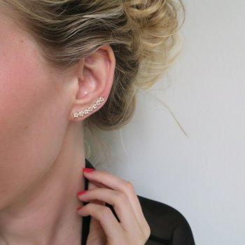 boucles d'oreilles, odette et lulu, créateurs, eshop, concept store, flowers, strass, sunny, 7bis, petit prix, cadeau, perfect gift