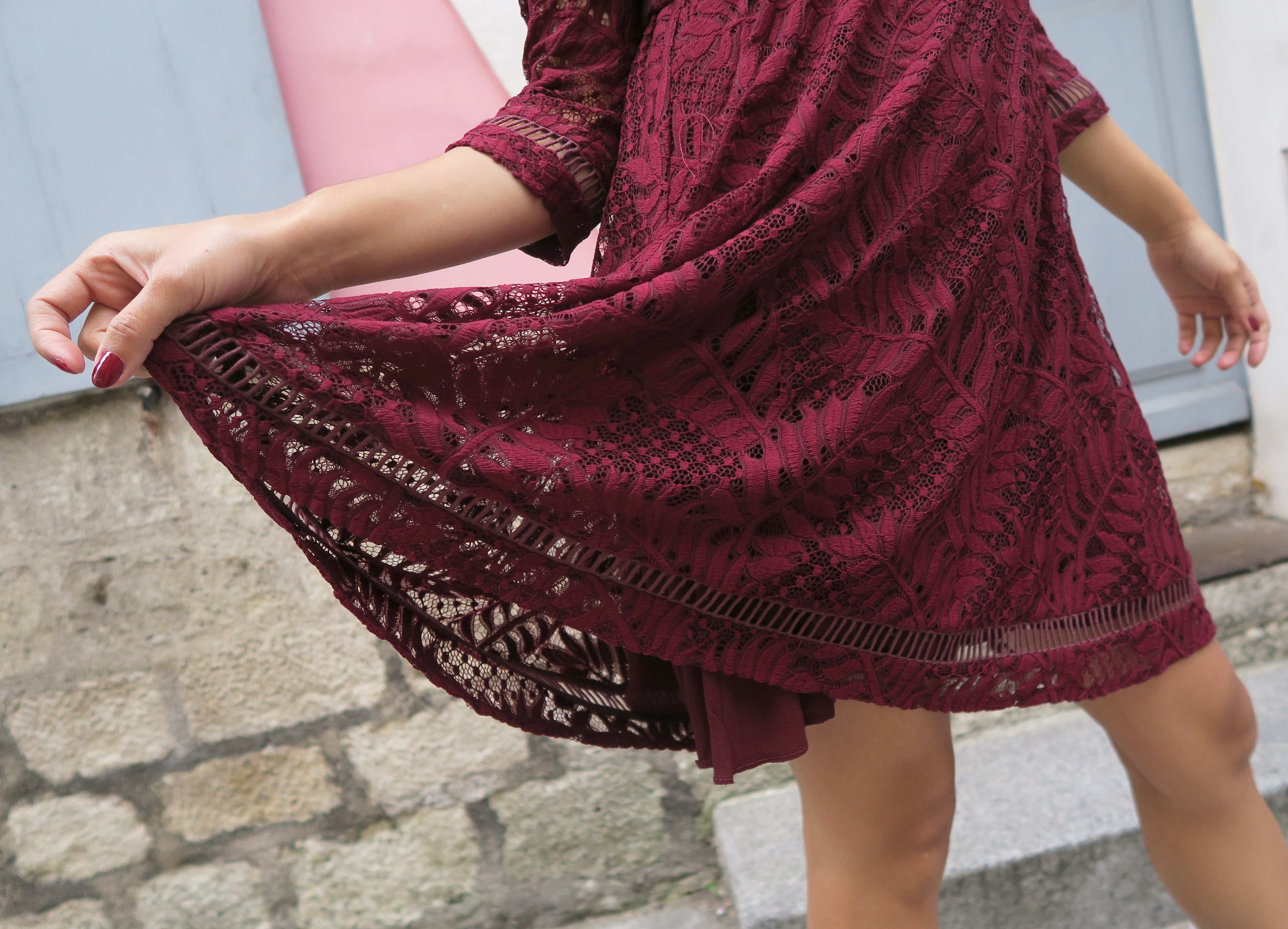 Oh mon amour crochet robe