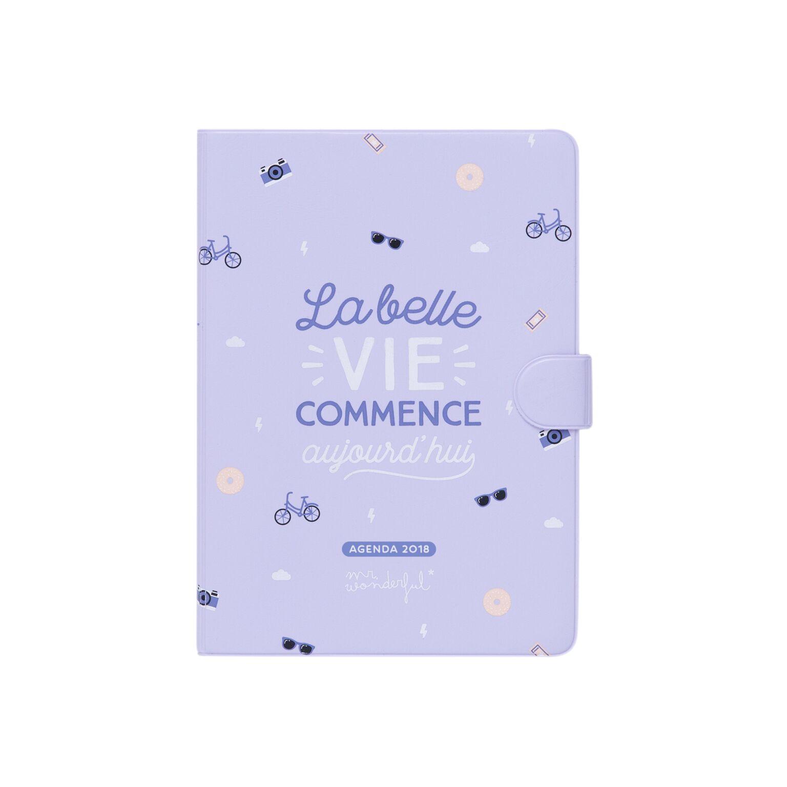 Agenda 2018 la belle vie odette lulu - Agenda 2017 2018 mr wonderful ...