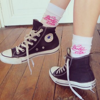 chaussettes, on laisse pas bébé dans un coin, odette et lulu, concept store, eshop, créateurs, idée cadeau, stocks, mode, fashion
