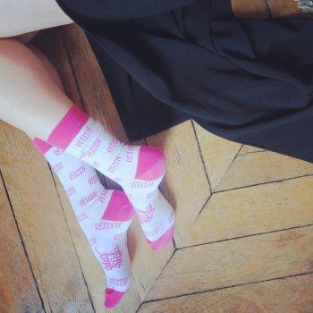 chaussettes, odette et lulu, résiste, créateurs, eshop, concept store, cadeau, gift idea
