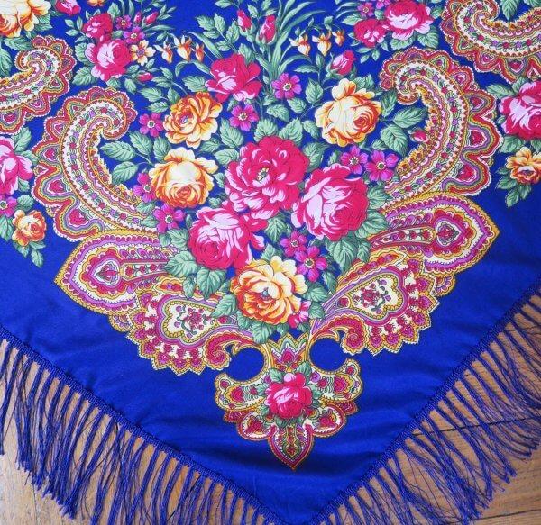 foulard balte, 100% coton, châle ukrainien, vert, fleurs, flowers, scarves, coste billy, fashion, 2018, 2019, flash, folk, bohème, nouveau, new, ukraine, pologne, soie, satin de soie, violet, folklore