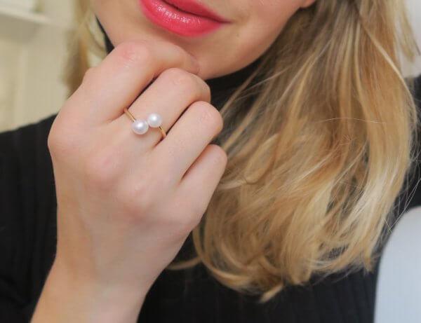 bague, love, pierre semi précieuse, odette et lulu, les cléias, bijoux de créateurs, eshop, concept store, bijoux de plage, idée cadeau, perle, ornement, perle, bijou fantaisie, créateurs, bague perle, pearl