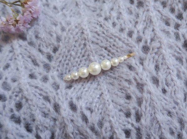 barrette, tendance, perle, cheveux, accessoire de cheveux, odette et lulu, concept store, fashion, hair fashion, or, gold