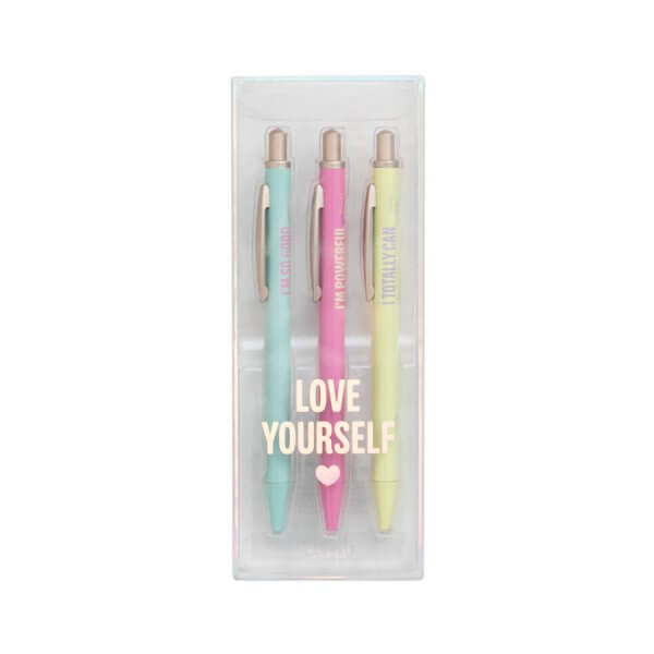 set, stylos 3 stylos, empowerment, mr wonderful, odette et lulu, concept store, eshop, I totally can, I'm powerful, gift, idée cadeau