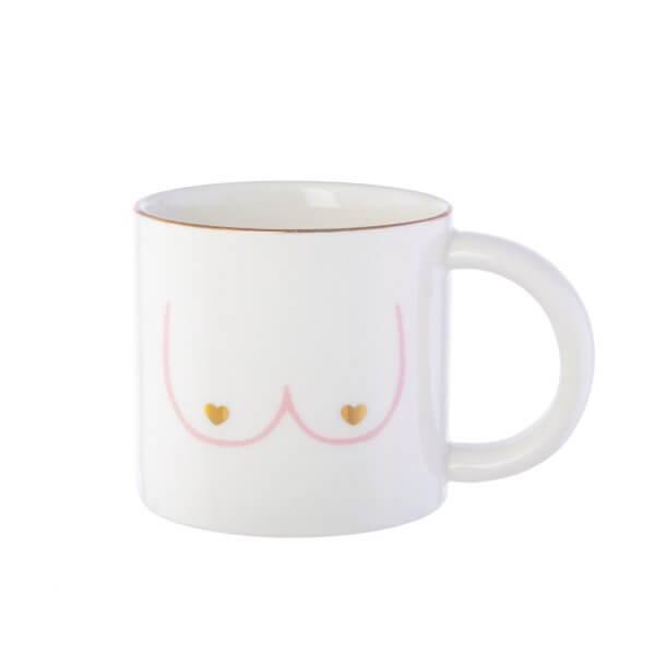 la déco d'Odette et lulu, boobs, odette et lulu, créateurs, eshop, mug, vaisselles, mug coeur, sass and belle, concept store, createurs, eshop, mug seins, gift idea
