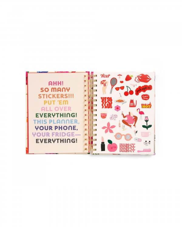 agenda, rifle paper co, ban do, odette et lulu, 2020, magic winter, parfait, gift idea, idee cadeau