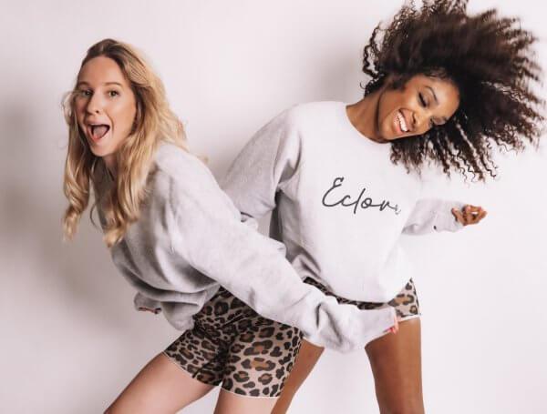 cycliste, Odette et lulu, Nadine timas, léopard, éthique, danse, sport, 80's, taille haute, short, parfait, concept store, félin
