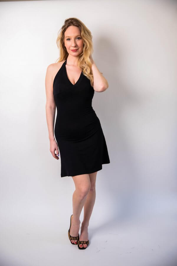 robe Marilyn, robe 90's, robe 90's, iconique, dos nu, noir, iconic black dress, concept store