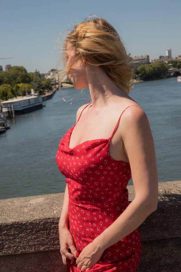 robe, Penelope, Suzette, rouge, vert, citrons, Odette & Lulu, concept store, quantités limitées, pièces uniques, fait au Portugal, amour