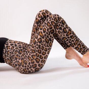 legging, leopard, sculptant, gainant, Odette et lulu, nadine timas, eclore, createurs, concept store, sport, danse, vetement danse, legging danse, fait au Portugal, confortable, Leo, sexy